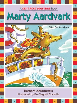cover image of Marty Aardvark
