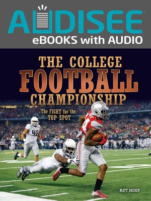 cover image of The College Football Championship