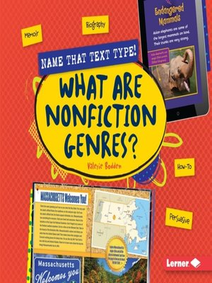 cover image of What Are Nonfiction Genres?