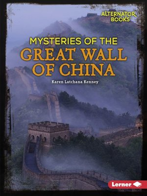 cover image of Mysteries of the Great Wall of China