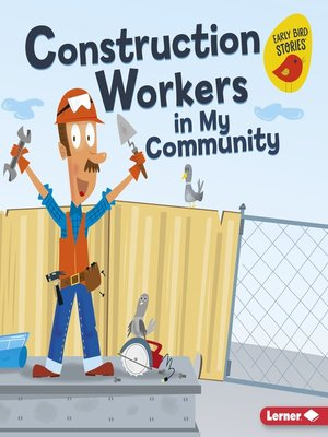 cover image of Construction Workers in My Community