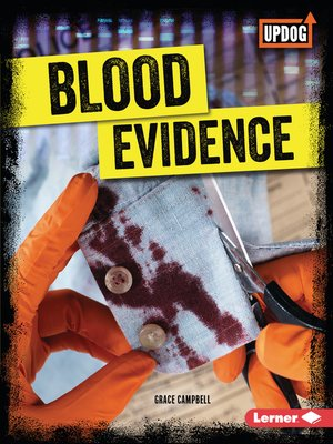 cover image of Blood Evidence