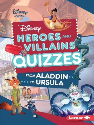 cover image of Disney Heroes and Villains Quizzes