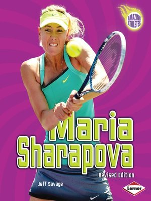 cover image of Maria Sharapova