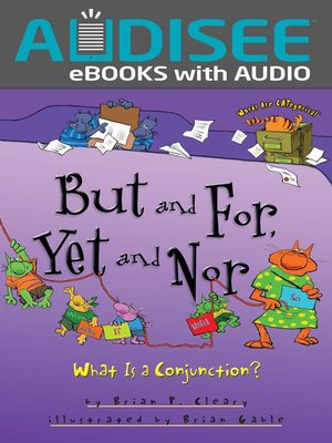 cover image of But and For, Yet and Nor