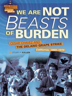 cover image of We are Not Beasts of Burden