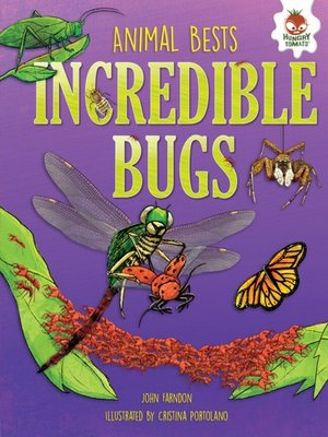 cover image of Incredible Bugs