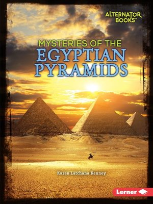 cover image of Mysteries of the Egyptian Pyramids