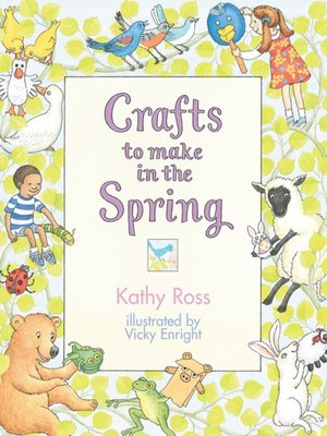 cover image of Crafts to Make in the Spring