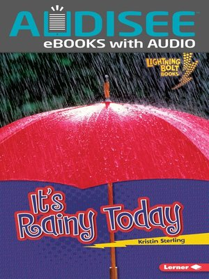 cover image of It's Rainy Today