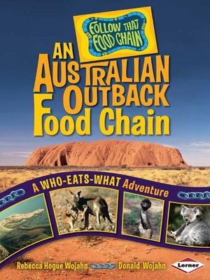 cover image of An Australian Outback Food Chain