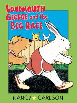 cover image of Loudmouth George and the Big Race