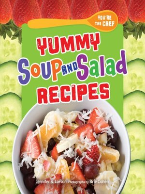 cover image of Yummy Soup and Salad Recipes