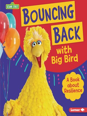 cover image of Bouncing Back with Big Bird