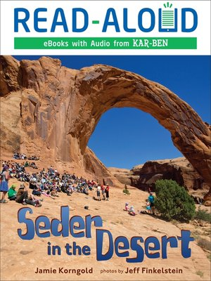 cover image of Seder in the Desert