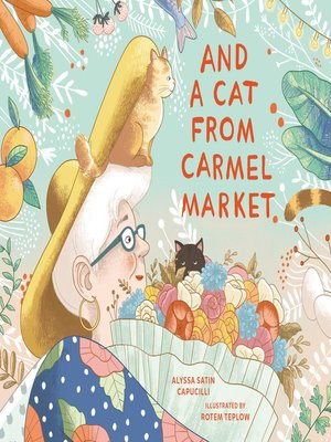 cover image of And a Cat from Carmel Market