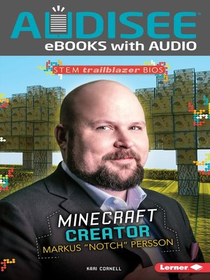 "cover image of Minecraft Creator Markus ""Notch"" Persson"