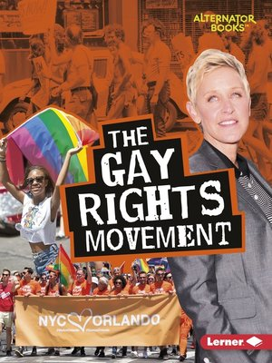 cover image of The Gay Rights Movement