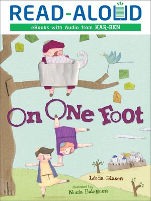 cover image of On One Foot