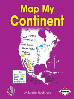 cover image of Map My Continent