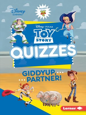 cover image of Toy Story Quizzes