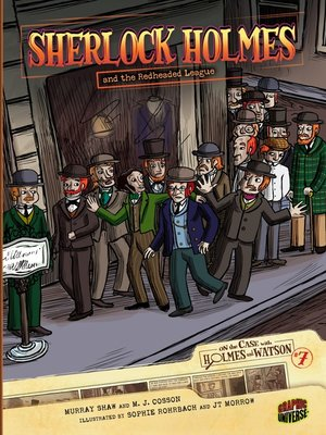 cover image of Sherlock Holmes and the Redheaded League
