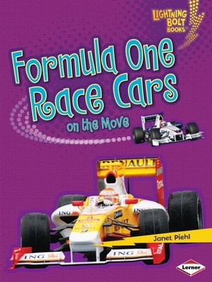 cover image of Formula One Race Cars on the Move