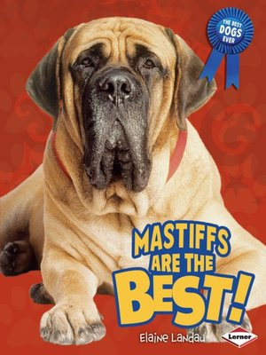 cover image of Mastiffs Are the Best!