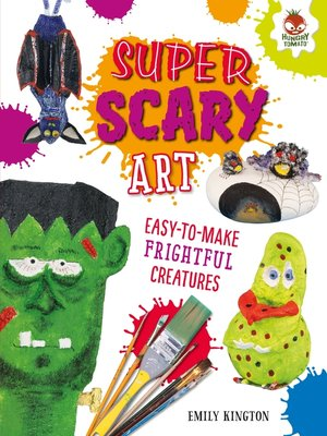 cover image of Super Scary Art