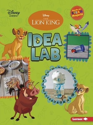 cover image of The Lion King Idea Lab