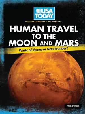 cover image of Human Travel to the Moon and Mars