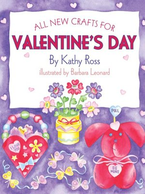 cover image of All New Crafts for Valentine's Day