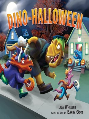 cover image of Dino-Halloween
