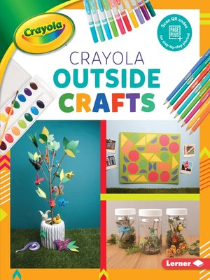 cover image of Crayola Outside Crafts