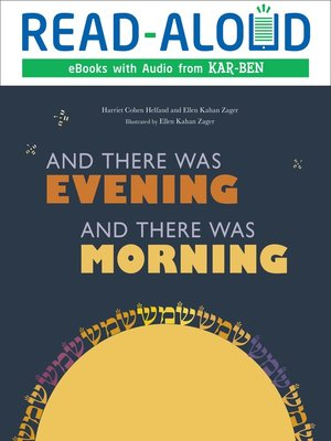 cover image of And There Was Evening, and There Was Morning