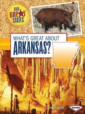 cover image of What's Great about Arkansas?