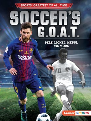 cover image of Soccer's G.O.A.T.