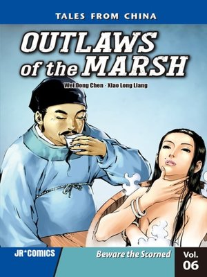 cover image of Outlaws of the Marsh, Volume 6
