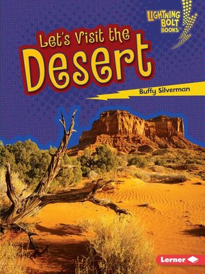 cover image of Let's Visit the Desert