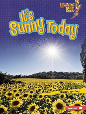 cover image of It's Sunny Today