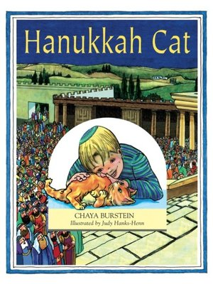cover image of Hanukkah Cat