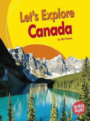 cover image of Let's Explore Canada