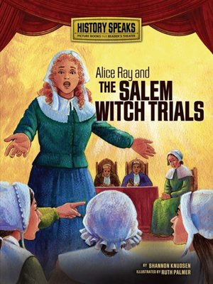 cover image of Alice Ray and the Salem Witch Trials