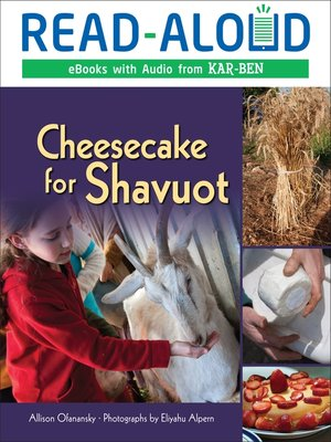 cover image of Cheesecake for Shavuot