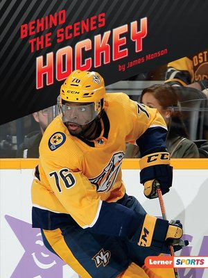 cover image of Behind the Scenes Hockey