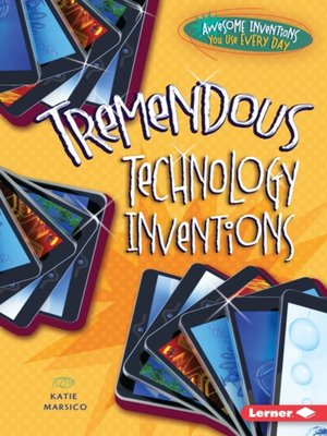 cover image of Tremendous Technology Inventions