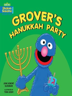 cover image of Grover's Hanukkah Party