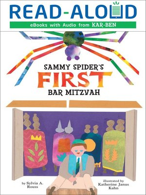 cover image of Sammy Spider's First Bar Mitzvah