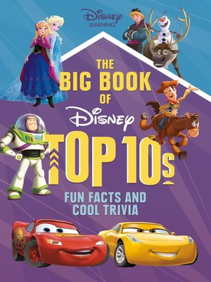 cover image of The Big Book of Disney Top 10s