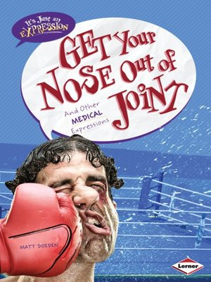 cover image of Get Your Nose Out of Joint